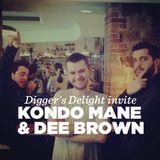 Digger's Delight invite Kondo Mane & Dee Brown • DJ set • LeMellotron.com