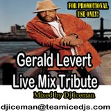 Gerald Levert Live Mix Tribute by Dj Iceman