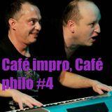 """Café impro, Café philo #4 """"Musique et Théâtre improvisé, le lien"""""""