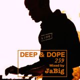 2-Hour Disco, Funk, 70s & 80s Mix by JaBig - DEEP & DOPE 259