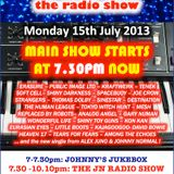 THE JOHNNY NORMAL RADIO SHOW 14, 15TH JULY 2013