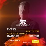 Ruben De Ronde - A State Of Trance Festival 900, Jaarbeurs Utrecht, Netherlands (23.02.2019)