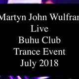 Martyn John Wulfran Live Buhu Club Trance Event