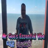 Mr Gee's Essential Vibe Show No #42 - LIVE From Blackpool - Playback 16th November 2017