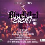 Rumors Black Out Event Promotional Mix