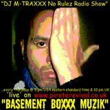Manny Cuevas aka DJ M-TRAXXX No Rulez Radio Show on www.piraterevival.co.uk - December 1st 2011'
