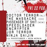 Ninja Gaijin - DJ set at Axed #4, Breakcore 22 Feb 2019
