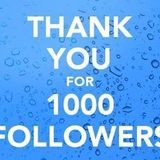 Celebrating 1000 followers (Part One)