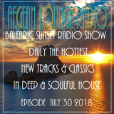 BALEARIC SUNSET SESSIONS - AIKO LIVE ON AEGEAN LOUNGE JULY 30 2018