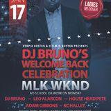 WELCOME BACK DJ BRUNO