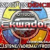 C.J.STONE//ADRIMA//FRUIT @ Independence Day Ekwador Manieczki 10.11.2015 Czerwona Sala