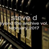 Steve D - Beyond The Archive vol. 1 (February 2017)