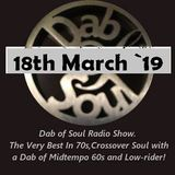 Dab of Soul Radio Show 18th March 2019 - Top 5 from From Nick Mckinnon