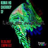 KUNAI HD x CHERRIEP x SF - 'LIQUID METAL' - Transit.FM Takeover 12.23.2017