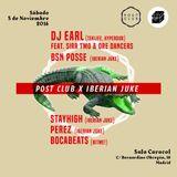 Post Club x Iberian Juke pre-party promo mix (DJ Earl tracks only)
