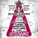 Cuartero b2b Hector Couto - Live @ Pyramid Ibiza at Amnesia, Keep On Dancing (Ibiza, ES) 24.09.2018