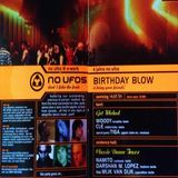 Woody @ 4 Jahre No Ufo's Birthday Blow - E-Werk Berlin - 14.07.2001