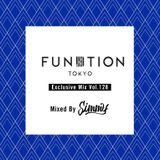 FUNKTION TOKYO Exclusive Mix Vol.128 Mixed By Simmy