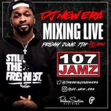 Dj New Era - Debut 107 Jamz Lake Charles, LA (1st Friday Guest Dj Set) Pt 2