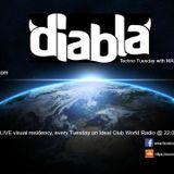 Diabla Techno Tuesday 2 with MAL_HOMBRE
