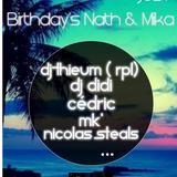 PART.1 BIRTHDAY'S NATH & MIKA 6-7-19 Dj DiDi ...