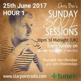 Chris Box's Sunday Soul Sessions, 25/6/2017 (HOUR 1) (Starpoint Radio)
