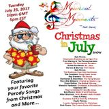 Musical Moments 7: Christmas in July with Mark Barnes