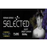 SELECTED Episode 027 with HERNAN SERRAO - Guest BRENT LAWSON [November 08 2017]