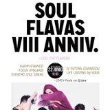 SOUL FLAVAS ANIVERSARY 8, MIXTAPE. DJ PUT1