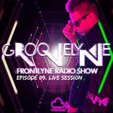 GROOVELYNE - FRONTLYNE RADIO SHOW EP#09 - LIVE SESSION @AUDIOBERLES.HU