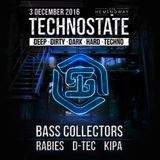 Bass Collectors live at Hemingway, Leeuwarden, 03-12-2016