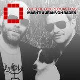 Culture Box Podcast 026 - Mashti & Jean von Baden