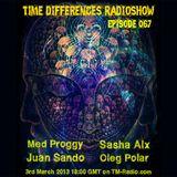 Sasha Alx - Time Differences 067 [3-Mar-2013] on Tm-Radio.com