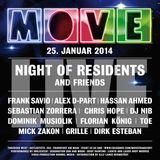 "Frank Savio ""Live @ Move (Mainfloor) 25-01-14 [Tanzhaus West, FFM]"
