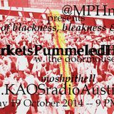 Markets Pummeled Hard KAOS radio Austin Mosh Pit Hell Metal Punk Hardcore w doormouse dmf