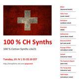 100 % Swiss Synths, 19. 4. 2016; Popscotch radio