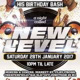 VAL B BIRTHDAY BASH 'NEW LEVEL' - 28-1-17 - CHESTERFIELD