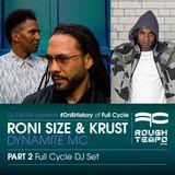 Roni Size & Krust, Dynamite Mc - DJ Twista - Rough Tempo Part 2 - DJ Set