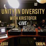 Kristofer - Unity in Diversity 460 (live) @ Radio DEEA (04-11-2017)