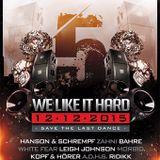 We Like It Hard 12.12.15 - Live Morbid VS White Fear - 5 Years.mp3