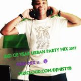 END OF YEAR URBAN PARTY MASHUP MIX 2017