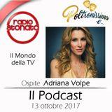 Poltronissima e ... - 3x08 - Adriana Volpe - 13.10.2017