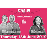 Expat Life Ep. 5 - 13.06.2019 - Samantha Teasdale