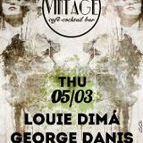 Louie Dimá & George Danis @ Vintage Cocktail Bar 05/03/2015 part from the night!!
