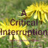 A Critical Interruption <Draft Improvization>