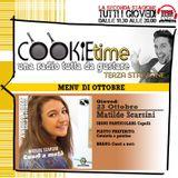 Mattia Garro con un nuovo episodio del Cookie Time e l'intervista all'Artista Chef Matilde Scarsini!