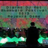 Diarmo DJ Set @ Shambala Festival  2013 in the Rejenr8 Dome.