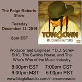 The Paige Roberts Show with guest TowDown