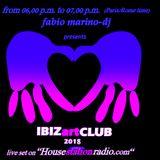 IBIZartCLUB May 14, 2018 mixed by Fabio Marino-dj feat. Kirsteen Bes
