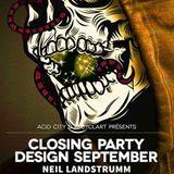 Stel -R @ Acidcity & Recyclart Pres. Closing Design - Recyclart Art Center Brüssel - 25.09.2014